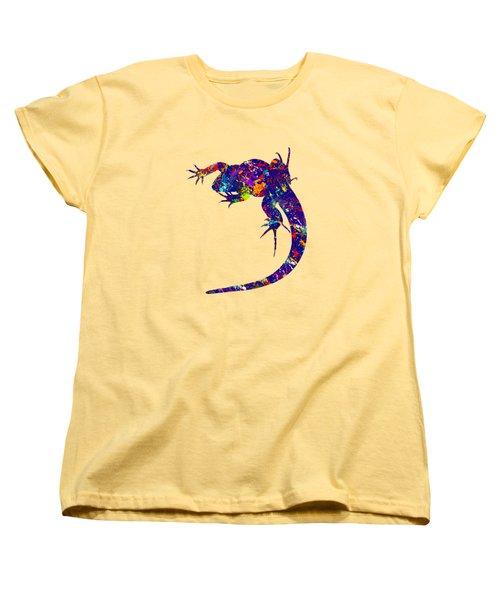 Colourful Lizard -2- Women's T-Shirt (Standard Cut) by Bamalam  Photography