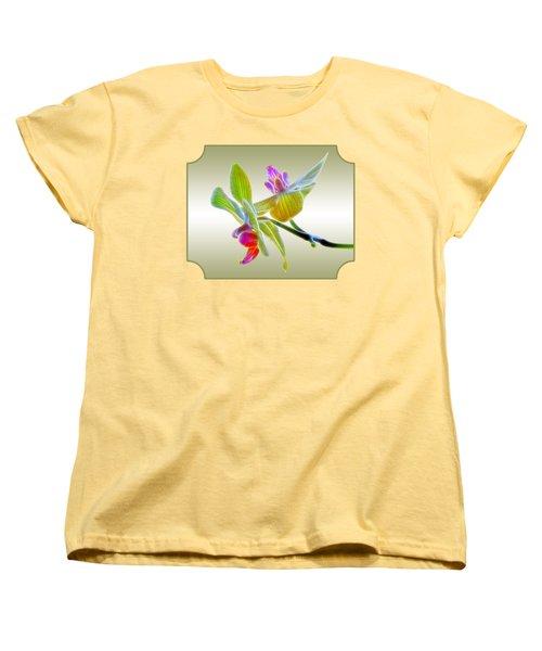 Dragon Glow Orchid Women's T-Shirt (Standard Cut) by Gill Billington