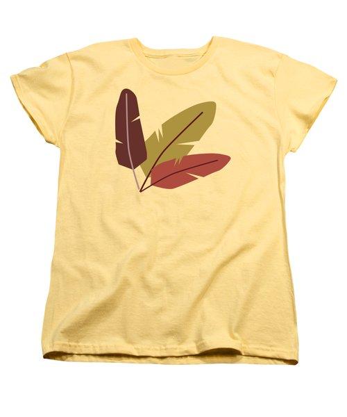 Forest Pattern Women's T-Shirt (Standard Cut) by Paulina Sliwa