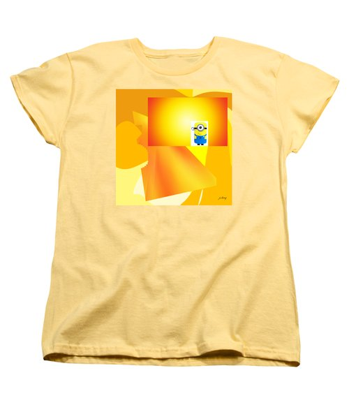 Hello Yellow Women's T-Shirt (Standard Cut) by Jacquie King