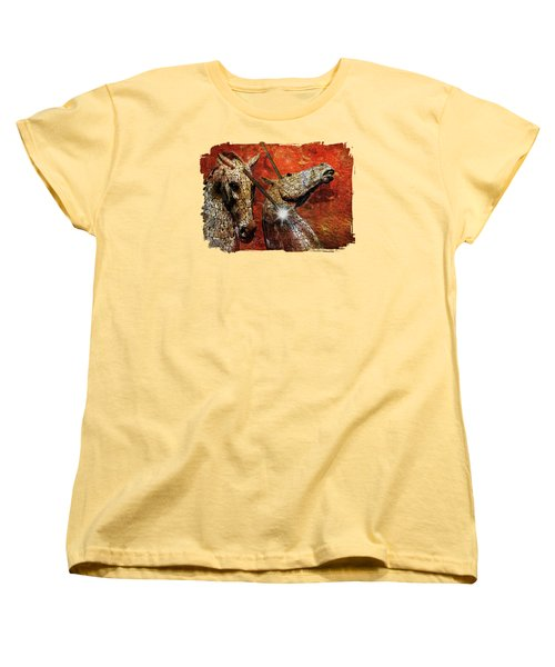 I Believe Women's T-Shirt (Standard Cut) by Terry Fleckney