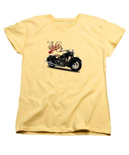 Indian Chief 1946 Women's T-Shirt (Standard Cut) by Mark Rogan