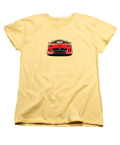 Jaguar F Type Women's T-Shirt (Standard Cut) by Mark Rogan