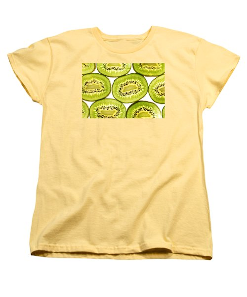 Kiwi Fruit II Women's T-Shirt (Standard Cut) by Paul Ge