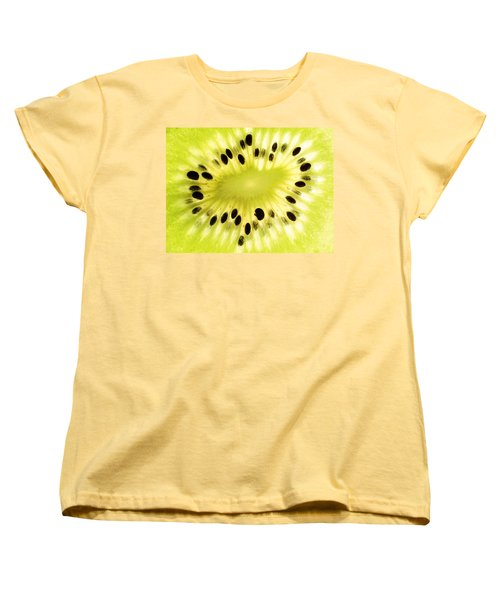 Kiwi Fruit Women's T-Shirt (Standard Cut) by Paul Ge