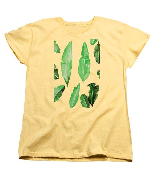 Leaves Women's T-Shirt (Standard Cut) by Cortney Herron