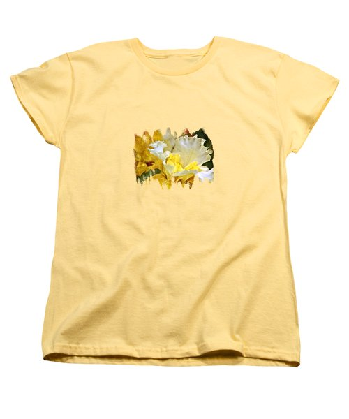 Morning Iris Women's T-Shirt (Standard Cut) by Thom Zehrfeld