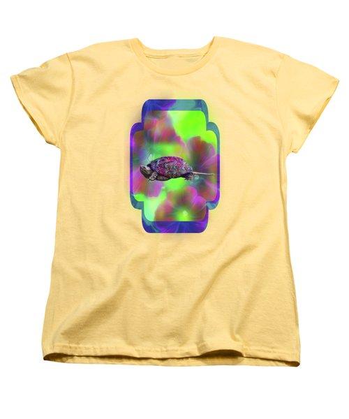 Ms Curlie Women's T-Shirt (Standard Cut) by Linda Troski