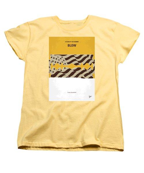 No693 My Blow Minimal Movie Poster Women's T-Shirt (Standard Cut) by Chungkong Art