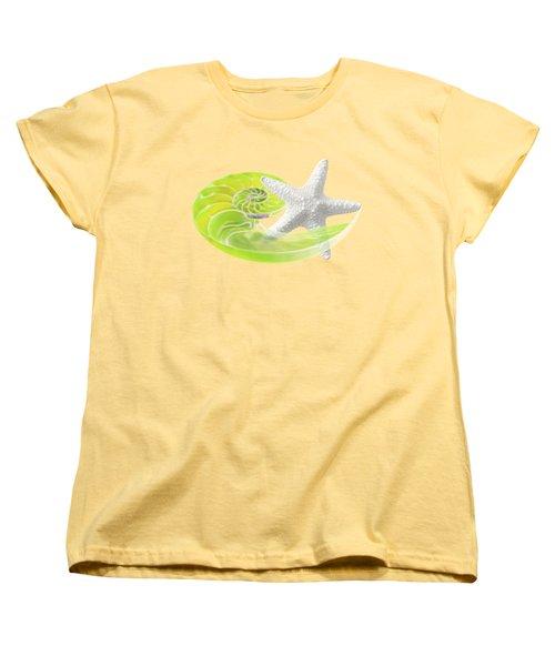 Ocean Fresh Women's T-Shirt (Standard Cut) by Gill Billington