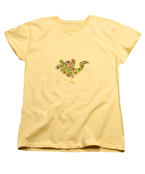 Peafowl Women's T-Shirt (Standard Cut) by Bekare Creative