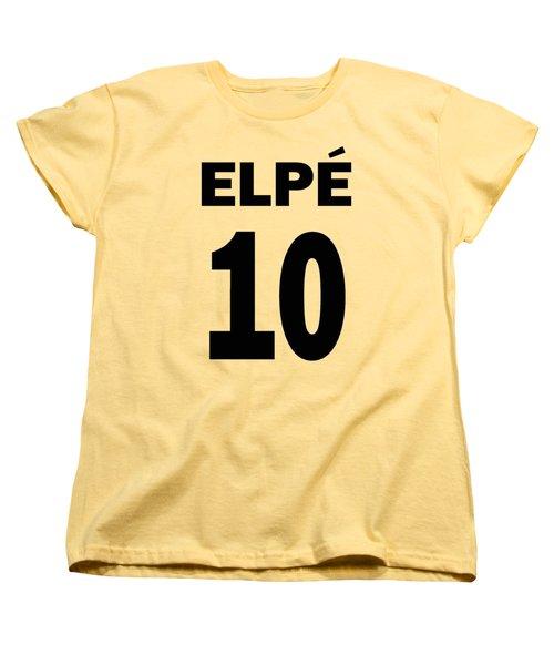 Pele 10 Women's T-Shirt (Standard Cut) by Charlie Ross