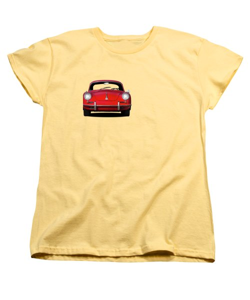 Porsche 356 Women's T-Shirt (Standard Cut) by Mark Rogan