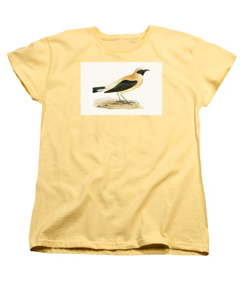 Russet Wheatear Women's T-Shirt (Standard Cut) by English School