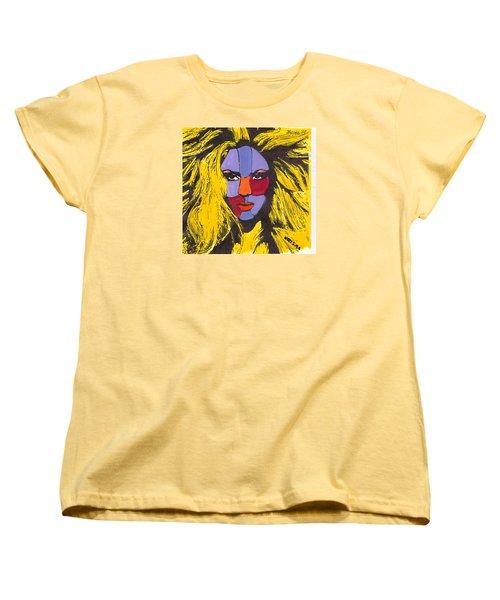 Shakira Women's T-Shirt (Standard Cut) by Zheni Mavromati