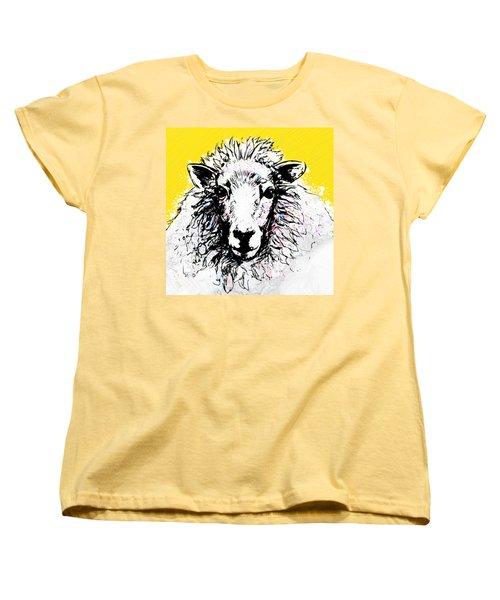 Sheep Women's T-Shirt (Standard Cut) by Tiffany Hunter