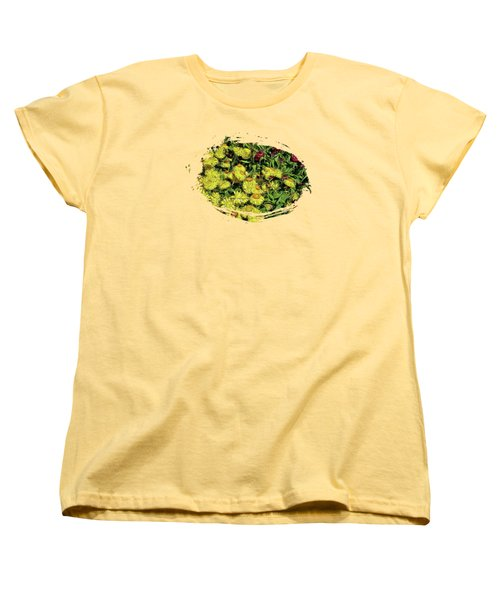 Smiling Daisies Women's T-Shirt (Standard Cut) by Thom Zehrfeld