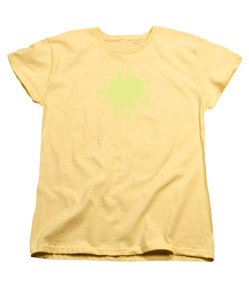 Solid Yellow Pastel Color Women's T-Shirt (Standard Cut) by Garaga Designs