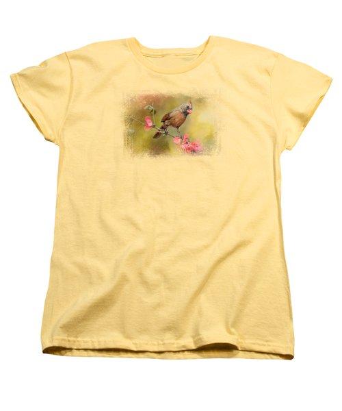 Spring Cardinal 1 Women's T-Shirt (Standard Cut) by Jai Johnson