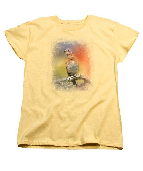 Spring Song Women's T-Shirt (Standard Cut) by Jai Johnson