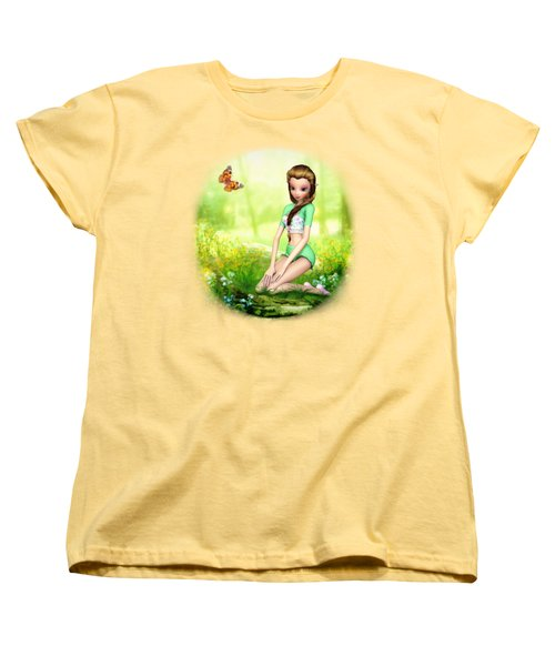 Springtime Pretties Women's T-Shirt (Standard Cut) by Brandy Thomas