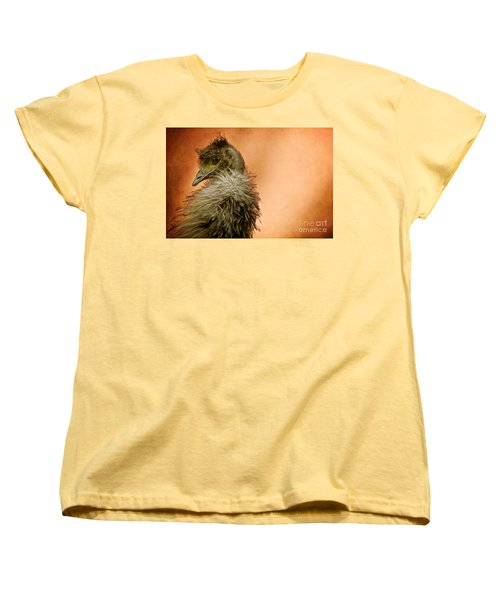 That Shy Come-hither Stare Women's T-Shirt (Standard Cut) by Lois Bryan