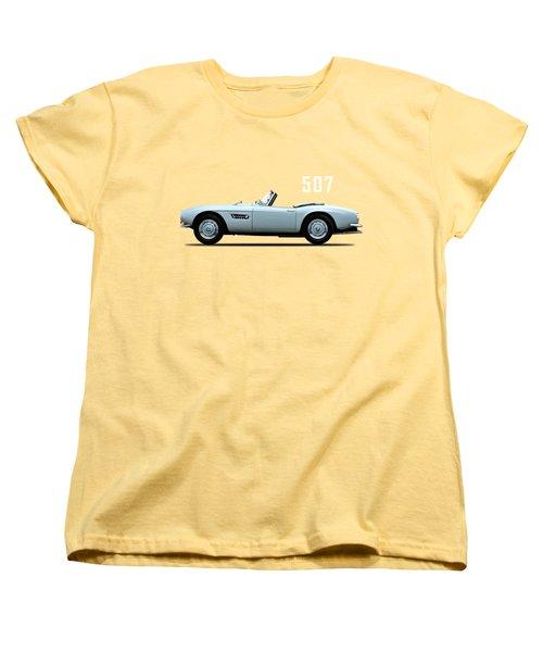The Bmw 507 Women's T-Shirt (Standard Cut) by Mark Rogan