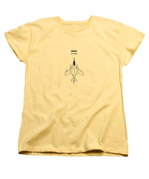 The Buccaneer Women's T-Shirt (Standard Cut) by Mark Rogan
