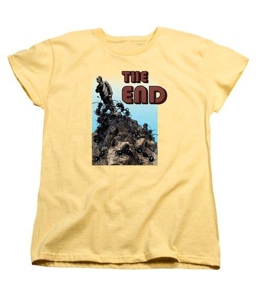 The End Women's T-Shirt (Standard Cut) by Joseph Juvenal