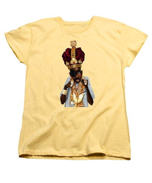 The Rula Women's T-Shirt (Standard Cut) by Nelson Dedos Garcia