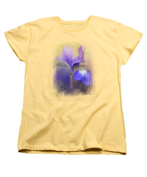 Tiny Iris Women's T-Shirt (Standard Cut) by Jai Johnson