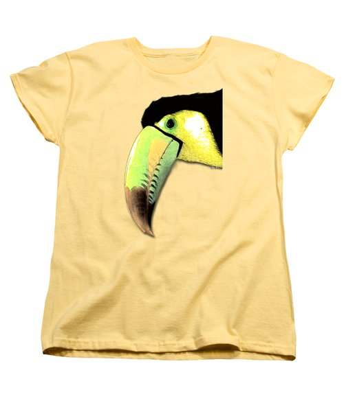 Toucan Do It Women's T-Shirt (Standard Cut) by Russ Harris