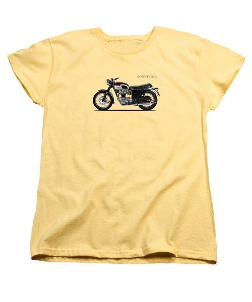 Triumph Bonneville 1968 Women's T-Shirt (Standard Cut) by Mark Rogan