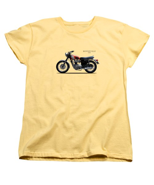 Triumph Bonneville 1969 Women's T-Shirt (Standard Cut) by Mark Rogan