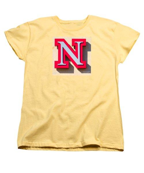 UNL Women's T-Shirt (Standard Cut) by Jerry Fornarotto