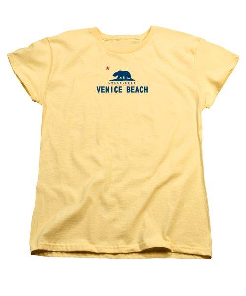 Venice Beach La. Women's T-Shirt (Standard Cut) by Lerak Group LLC