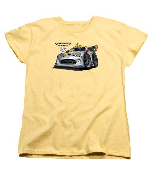Viper Gts-r Car-toon Women's T-Shirt (Standard Cut) by Steven Dahlen