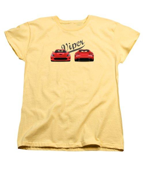 Viper Women's T-Shirt (Standard Cut) by Mark Rogan