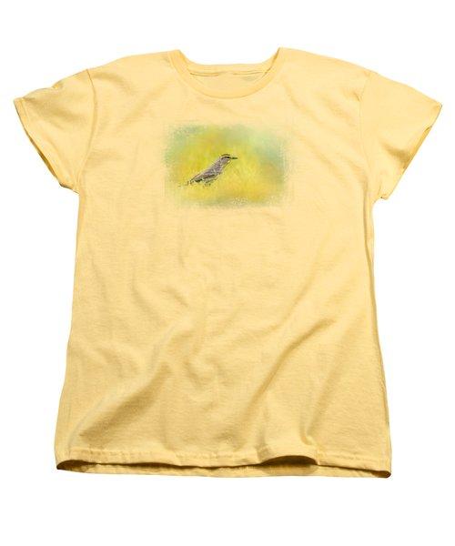 Welcome New Friend Women's T-Shirt (Standard Cut) by Jai Johnson