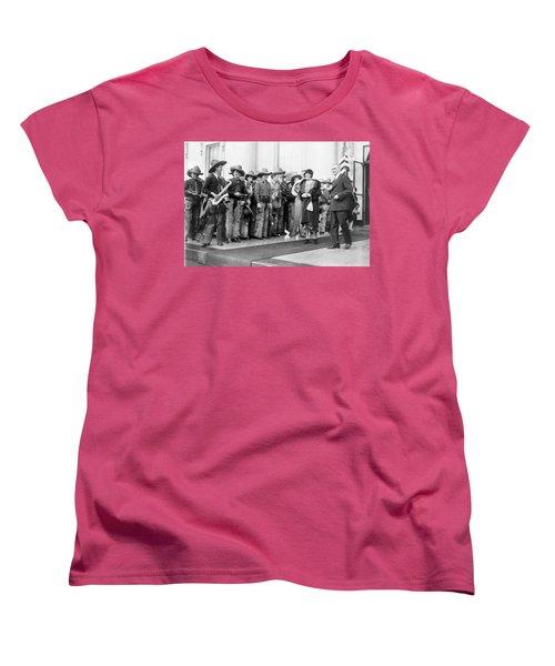 Cowboy Band, 1929 Women's T-Shirt (Standard Cut) by Granger