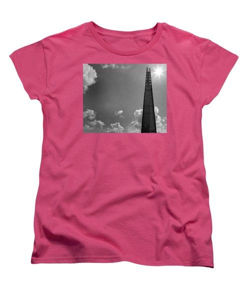 The Shard London Women's T-Shirt (Standard Cut) by Martin Newman