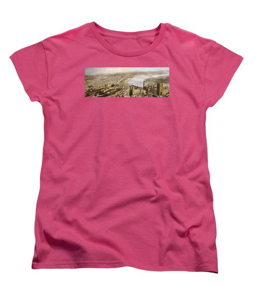 A Panoramic View Of London Women's T-Shirt (Standard Cut) by English School