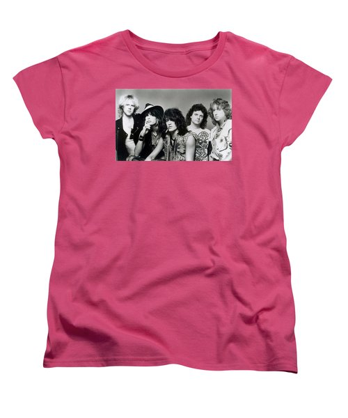 Aerosmith - What It Takes 1980s Women's T-Shirt (Standard Cut) by Epic Rights