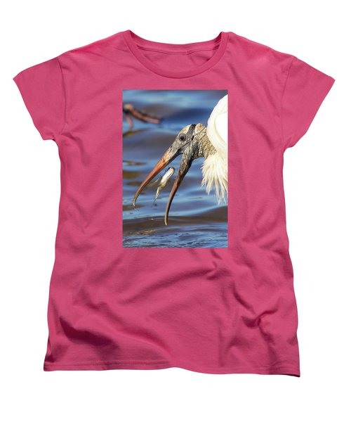Catch Of The Day Women's T-Shirt (Standard Cut) by Bruce J Robinson