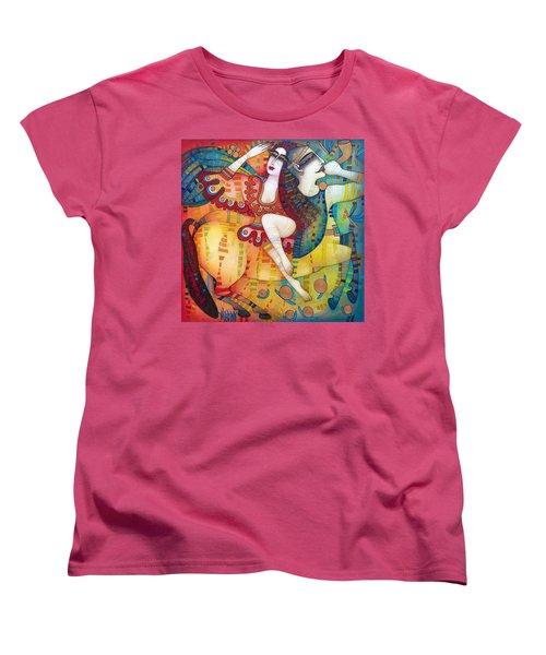 Centaur In Love Women's T-Shirt (Standard Cut) by Albena Vatcheva
