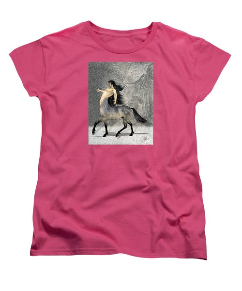 Centaur Women's T-Shirt (Standard Cut) by Quim Abella