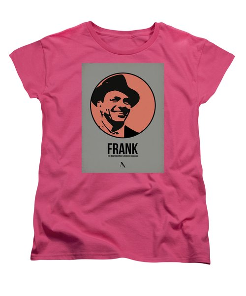Frank Poster 1 Women's T-Shirt (Standard Cut) by Naxart Studio