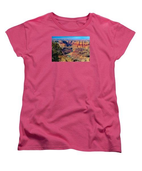 Grand Canyon Sunset Women's T-Shirt (Standard Cut) by Robert Bales