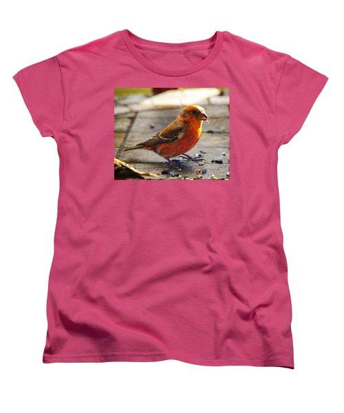 Look - I'm A Crossbill Women's T-Shirt (Standard Cut) by Robert L Jackson