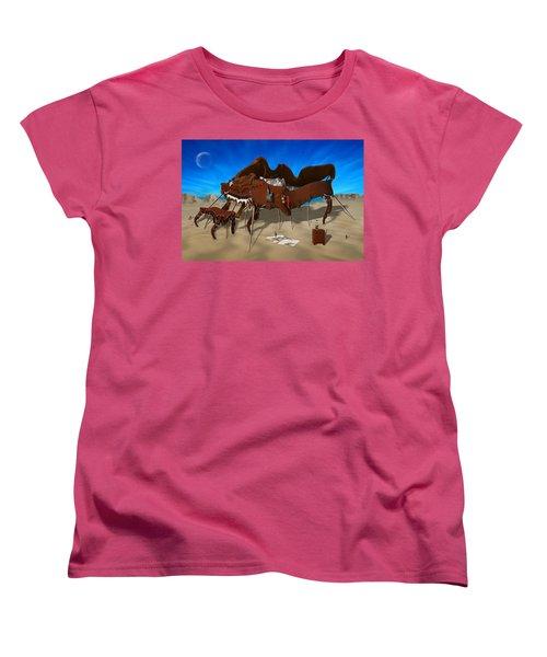 Softe Grand Piano Se Women's T-Shirt (Standard Cut) by Mike McGlothlen